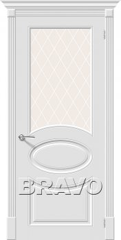 Межкомнатная дверь Скинни-21, Whitey фото