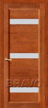 Межкомнатная дверь Вега-2 (ПЧО), Т-31 (Темный Орех) фото