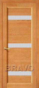 Межкомнатная дверь Вега-2 (ПЧО), Т-30 (Светлый Орех) фото