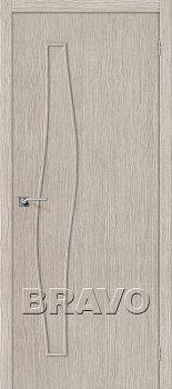 Межкомнатная дверь Мастер-7, 3D Cappuccino фото