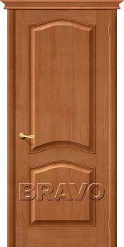 Межкомнатная дверь М7, Т-05 (Светлый Лак) фото