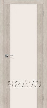 Межкомнатная дверь Порта-13, Cappuccino Veralinga фото