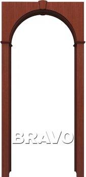 Межкомнатная дверь Браво, Ф-15 (Макоре) фото