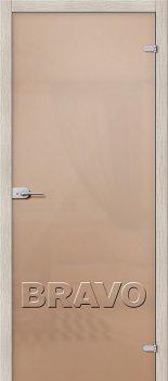 Межкомнатная дверь Лайт, Бронза Сатинато фото