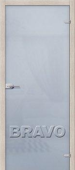 Межкомнатная дверь Лайт, Белое Сатинато фото