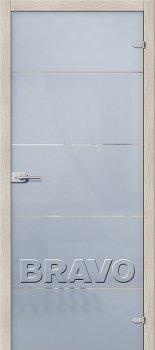Межкомнатная дверь Диана, Белое Сатинато фото