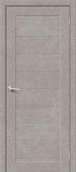 Межкомнатная дверь Браво-21, Gris Beton фото