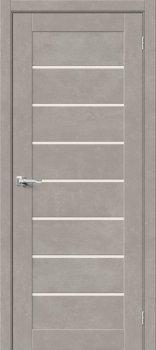 Межкомнатная дверь Браво-22, Gris Beton фото