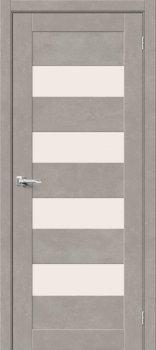 Межкомнатная дверь Браво-23, Gris Beton фото