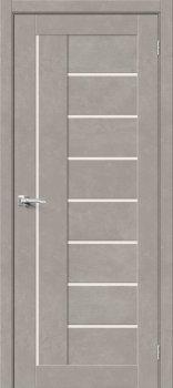 Межкомнатная дверь Браво-29, Gris Beton фото