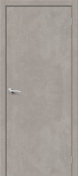 Межкомнатная дверь Браво-0, Gris Beton фото