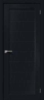 Межкомнатная дверь Браво-21, Black Mix фото