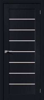 Межкомнатная дверь Браво-22, Black Mix фото