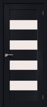 Межкомнатная дверь Браво-23, Black Mix фото