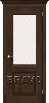 Межкомнатная дверь Классико-33, Dark Oak фото