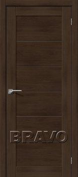 Межкомнатная дверь Легно-21, Dark Oak фото