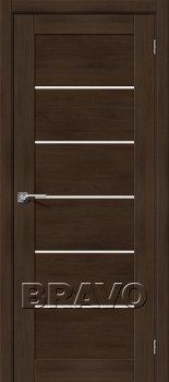 Межкомнатная дверь Легно-22, Dark Oak фото