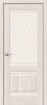 Межкомнатная дверь Прима-3, Ash White фото