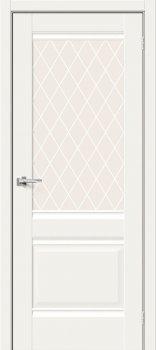 Межкомнатная дверь Прима-3, White Mix фото