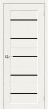 Межкомнатная дверь Мода-22 Black Line, White Mix фото