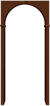 Межкомнатная дверь Бравo, Ф-17 (Шоколад) фото