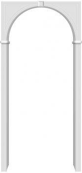 Межкомнатная дверь Бравo, П-23 (Белый) фото