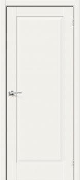 Межкомнатная дверь Прима-10, White Mix фото