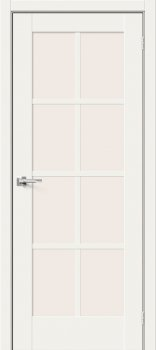 Межкомнатная дверь Прима-11.1, White Mix фото