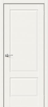 Межкомнатная дверь Прима-12, White Mix фото