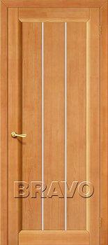 Межкомнатная дверь Вега-19, Т-30 (Светлый Орех) фото