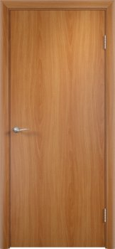 Межкомнатная дверь VERDA ДПГ четверть 2018 в комплекте Миланский орех фото