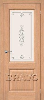 Межкомнатная дверь Статус-13, Ф-01 (Дуб) фото
