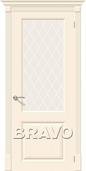 Межкомнатная дверь Скинни-13, Cream фото