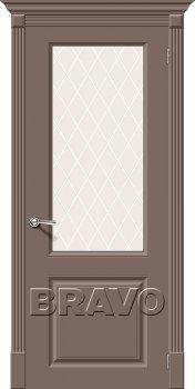 Межкомнатная дверь Скинни-13, Mocca фото