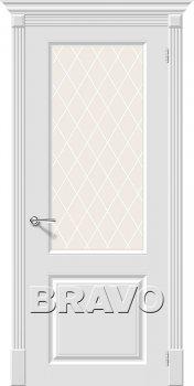 Межкомнатная дверь Скинни-13, Whitey фото