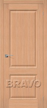 Межкомнатная дверь Статус-12, Ф-01 (Дуб) фото