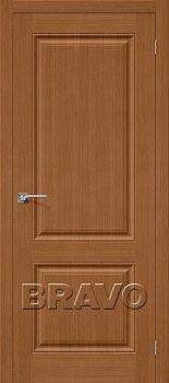Межкомнатная дверь Статус-12, Ф-11 (Орех) фото