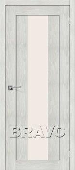Межкомнатная дверь Порта-25 alu, Bianco Veralinga фото