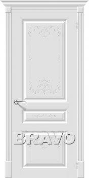 Межкомнатная дверь Скинни-14 Аrt, Whitey фото