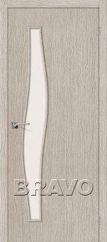 Межкомнатная дверь Мастер-8, 3D Cappuccino фото