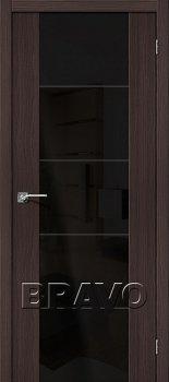 Межкомнатная дверь V4 BS, Wenge Veralinga фото
