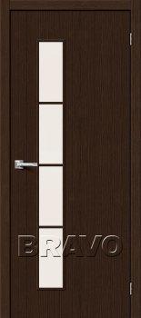 Межкомнатная дверь Тренд-4, 3D Wenge фото