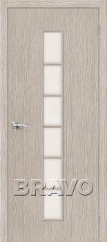 Межкомнатная дверь Тренд-12, 3D Cappuccino фото