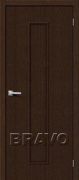 Межкомнатная дверь Тренд-13, 3D Wenge фото