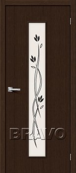 Межкомнатная дверь Тренд-14, 3D Wenge фото
