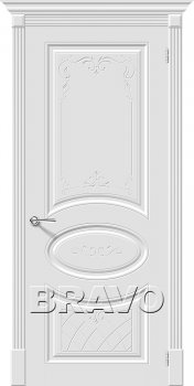Межкомнатная дверь Скинни-20 Art, Whitey фото
