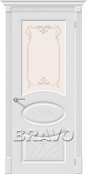 Межкомнатная дверь Скинни-21 Аrt, Whitey фото