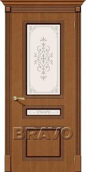 Межкомнатная дверь Стиль, Ф-11 (Орех) фото
