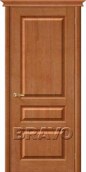 Межкомнатная дверь М5, Т-05 (Светлый Лак) фото