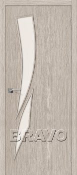 Межкомнатная дверь Мастер-10, 3D Cappuccino фото